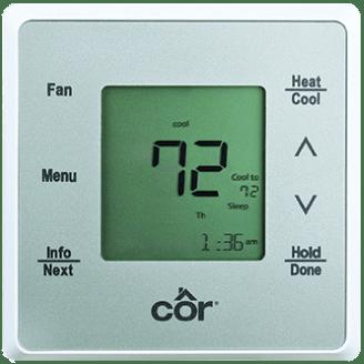 Côr® 5 Thermostat.