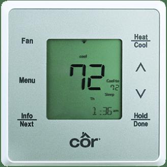 Côr® 5C Wi-Fi® Thermostat.