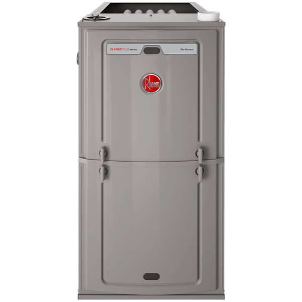Rheem R96P gas furnace.