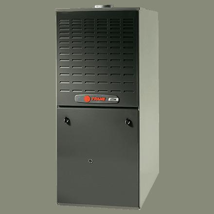 Trane XT80 gas furnace.