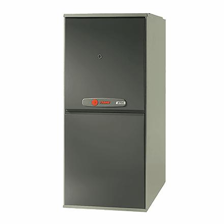 Trane XT95 gas furnace.