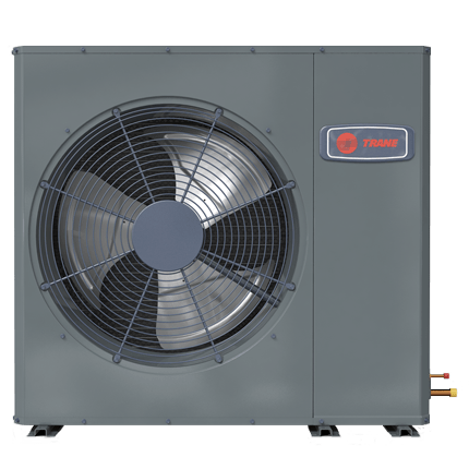 Trane XR16 low profile heat pump.