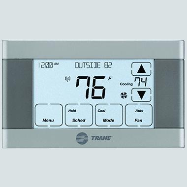 Trane XL624 connected controls.
